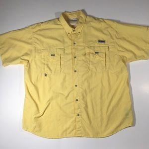 Columbia PFG men's short sleeve size XXL